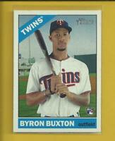 Byron Buxton SP RC 2015 Topps Heritage SP Rookie Card # 724 Minnesota Twins MLB