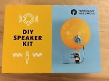 New DIY SPEAKER KIT technology will save us ARDUINO mic microphone fun musician