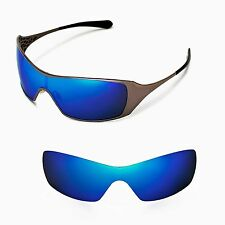 New Walleva Polarized Ice Blue Replacement Lenses For Oakley Dart Sunglasses