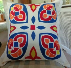 Applique Cushion Kit Egyptian Treasure Influenced by the Tentmakers of Old Cairo