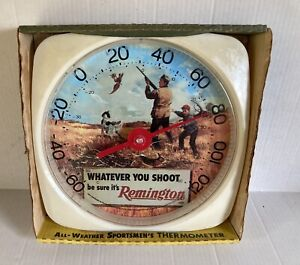 Vintage Remington All Weather Sportsmen's Therometer - 1994 - in package