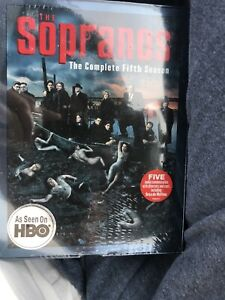 New The Sopranos - The Complete Fifth Season (DVD, 4-Disc Set) Sealed Free Ship