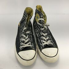 Converse Chuck Taylor All Stars High Tops Bart Simpson Size 9 Used