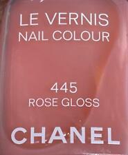 Chanel nail polish 445 ROSE GLOSS rare limited edition