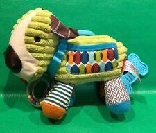 Skip Hop Bandana Buddies Activity Puppy Dog Infant Baby Toy Teether Hanging
