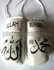 Allah / Muhammed mini boxing gloves for your car mirror-Get the best. Hurry!