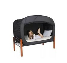 """Privacy Pop Bed Tent, New, Twin Size, Black 78"""" 39"""" 47"""""""
