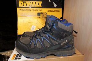 Dewalt Oxygen Safety Steel Toe Work Boots Trainers Black UK 8 / EU 42 - AA100