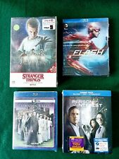 LOT of 4 Blu-ray TV collections
