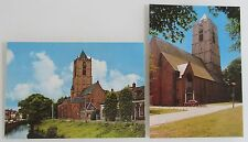 TIEL in NL Holland Niederlande 2x Postkarte Briefkaart Ansichtskarte Kirche Kerk