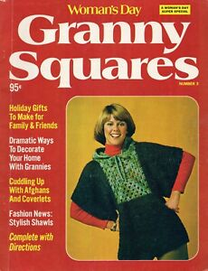Women's Day Granny Squares Magazine #3