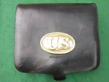 Reproduction American civil war U.S. Federal Yankee Cartridge box & sling