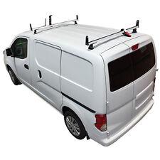 White J2000 2 Bar ladder roof rack for a Nissan NV200 2013-On