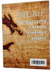Carbon Transfer Blue Tracing Paper for Woodworking and Wood Burning Woodburning