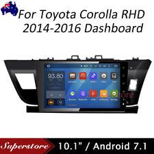 Quad Core Android 7.1 Car NON DVD GPS  Unit For Toyota Corolla 2013-2016 Sedan