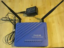 OvisLink Wireless N ADSL2/2+ Router WiFi , model: OV504WN