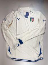 Italy Italia 2010-12 Puma Long Sleeve Away White Jersey Maglia Size XL NWT