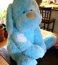 "New listing Huge 31"" Stuffed Blue Floppy Plush Dog - Toy Factory"