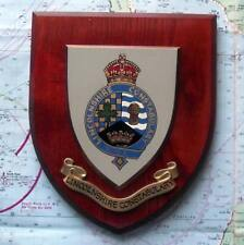 More details for obsolete kings crown lincolnshire constabulary police crest plaque shield.