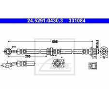 ATE Original Bremsschlauch Suzuki Wagon R+,. Justy III 24.5291-0430.3