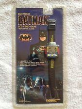 Rare vintage LCD Wrist Watch Game Batman NIB sealed Tiger (mint condition)