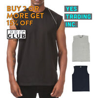 PROCLUB PRO CLUB MENS CASUAL TANK TOP T SHIRT SLEEVELESS SHIRTS MUSCLE TEE GYM
