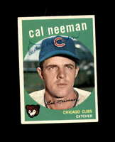 Cal Neeman Hand Signed 1959 Topps Chicago Cubs Autograph