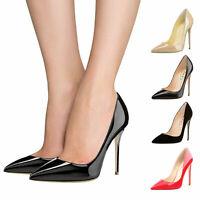 Women's Ladies Secret Stilettos High Heels Pointed Toe Court Shoes Pumps Size