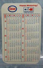 Vintage Advertising Pocket Wallet Calendar Card: 1969 ESSO GAS OIL Wilmington DE