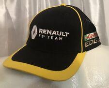 nwt RENAULT F1 TEAM Castrol Edge Adjustable Baseball Hat Ball Pit crew Cap Black