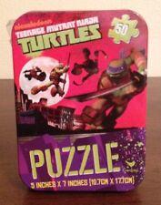 Teenage Mutant Ninja Turtles TMNT Mini 50 Piece Puzzle Set in Tin Box New In Box
