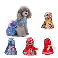 Pet Dog Spring Summer Dress Fashionable Skirt Dog Puppy Apparel Small Large Size
