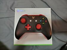 Xbox One Wireless Custom Design Lab Controller - Black and Red