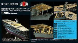 Hasegawa #40071 1/350 IJN Aircraft Carrier AKAGI Detail Up Parts Super Set