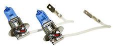 x2 H3 55W Xenon Halogen Super White Upgrade Direct Replace Fog light Bulbs N599