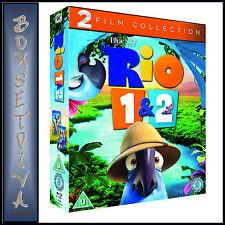 RIO & RIO 2 - 2 FILM COLLECTION  ***BRAND NEW BLU-RAY BOXSET **
