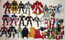 Marvel Super Hero Mashers Lot Black Panther Winter Soldier Vision America