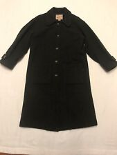 Woolrich Wool Blend Trench/OverCoat Gray/Green (Size S-L) Womens (SWM1)