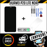 VITRE TACTILE + ECRAN LCD POUR HUAWEI P20 LITE NOIR + FILM + OUTILS + LOGO