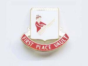 First Place VAULT Gymnastics Award Lapel Pin - UP UP AND AWAY!