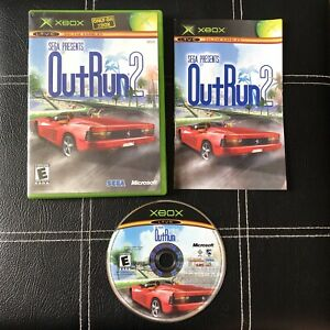 Out Run OutRun 2 (Original Xbox, 2004) Complete w/ Manual CIB, Tested/Working