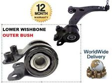 FOR FORD FOCUS C MAX 2003-> 1 X FRONT SUSPENSION WISHBONE ARM REAR OUTER BUSH