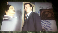 "THE FOLLOWING - KEVIN BACON Authentic Hand-Signed ""Ryan Hardy""11x17 photo"