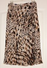 Ladies Animal Print Skirt Size Large Nice!
