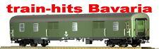 Heris H0 11061 Gepäckwagen mit Rolltüren DB grün, Ep. IV, DC neuOVP
