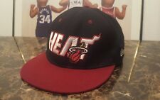 Miami Heat New Era snapback hardwood classics mens hat cap NBA basketball