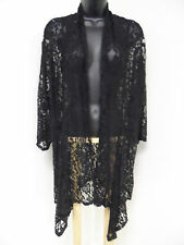 Plus Size 3X STRETCH LACE Wrap Top Cover-Up Jacket Evening Shrug Shawl Sexy NWT