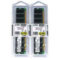 2GB KIT 2 x 1GB DIMM DDR NON-ECC PC2700 333MHz 333 MHz DDR-1 DDR1 2G Ram Memory
