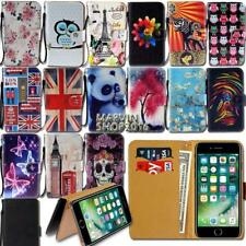 Leather Wallet Card Stand Flip Case Cover For Apple iPhone 3456/Itouch 3456