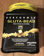 Performix GLUTA-BEAD Pure L- Glutamine Powder 45 Servings UNFLAVORED